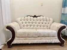 5 piece living room set (used)