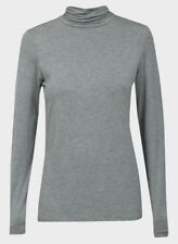 Ladies Grey Rollneck Top  Size XL 14 - 16