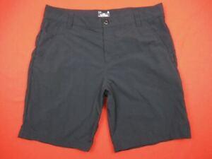 "Under Armour $65 Mens 38 Chesapeake Fishing Nylon 10"" Shorts Black 1253171"