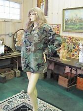 Original US Army 4th Infantry Officers Cold Weather Field Coat Airborn Assault