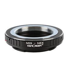 K&F Concept Leica M39 L39 Lens to Sony NEX E Mount Adapter A7 A7R NEX-3 A6300