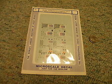 Microscale decals N 60-765 COOP covered hoppers PS 17 panel 4 bay cyl 1973+  D30