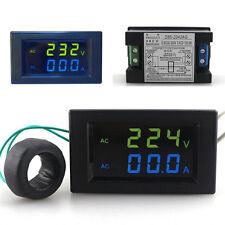 80-300V/100A Digital Display AC Voltage Current Dual Display Meter D85-2042AG