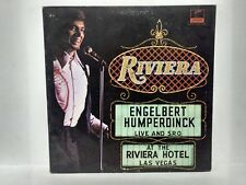 Engelbert Humperdink Live And S.R.O. At The Riviera Hotal LV  Vinyl Record lp624