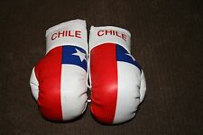 CHILE / CHILEAN FLAG Mini Boxing Gloves Ornament *NEW*