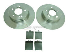 MERCEDES C270 CDi ESTATE 2001-2005 REAR 2 BRAKE DISCS & PADS SET NEW