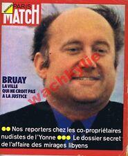 Paris Match n°1252 du 05/05/1973 Bruay Nudisme Institut Pasteur Rolls Royce