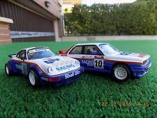 "2 SCALEXTRIC ""RACING"" BMW M3 Y PORSCHE CARRERA RS"
