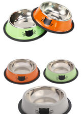 Stainless Steel Pet Cat Bowl Kitten Puppy Dish Bowl For Small Dog Cats for Water