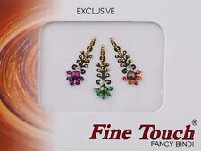 Bijoux de peau multicolore autocollant-bindi-Mariage oriental bollywood-169