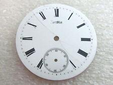 Dial (Watch-face) for Pocket Watch Zentra Antique Swiss Original White Porcelain