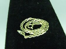 Gold Fancy Chain Bracelet 14K Solid Gold 7 Inches Long  Almost 3 Mm Wide