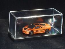LOT OF 10 HOT WHEELS 1/64 SCALE ACRYLIC DISPLAY CASE, DIECAST MATCHBOX, CARS