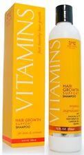 Hair Growing Shampoo for Women Vitamins Scalp Balding Bald Spots Alapecia Oil