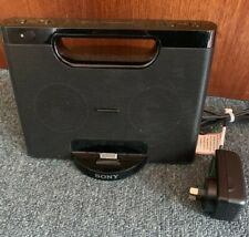 Sony Personal Audio Docking System RDP-M7iP iPhone iPod 30pin With Power Supply