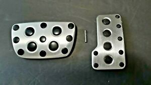 LEXUS IS 300 250 350 STAINLESS ALUMINUM GAS ACCELERATOR BRAKE PEDAL COVER