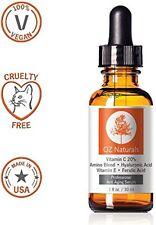 OZ Naturals 20% VITAMIN C + AMINO HYALURONIC ACID SERUM Anti Ageing Vegan