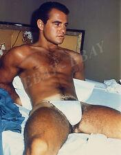 GARY SEEGAR shirtless BEEFCAKE hot Photo.