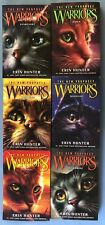 Warriors The New Prophecy Erin Hunter Book Set ~ 1 2 3 4 5 6 ~ Pb lot Complete