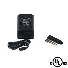 BRAND NEW Uninex Electrix CV013 300mA AC-DC Adaptor with 6 Plugs