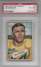 1952 Bowman Small #9 Joe Spencer PSA 6