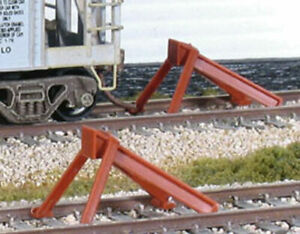 Peco ~ New 2021 ~ HO Scale ~ Code 70-100 ~ Streamline Hayes Train Bumper ~ 2 Pcs