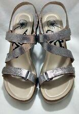 OTBT Women's Wavey Platform Wedge Sandals Natural Straw Color US 7.5M MSRP $130