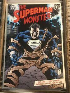 THE SUPERMAN MONSTER one-shot ELSEWORLD ANTHONY WILLIAMS ABNETT LANNING DC 1999