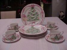 SANGO HOME FOR CHRISTMAS #4829 DINNERWARE SET OF 12 PIECES IN BOX