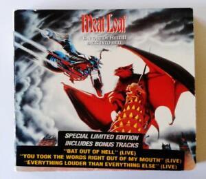 MEAT LOAF - Bat Out Of Hell 2 - ORIGINAL 2 disc CD Digipak - EXCELLENT USED