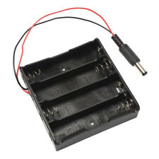 2X For 4x18650 Battery Holder Plastic Battery HoldersStorage Black Box Case