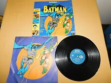 VINTAGE 1966 BATMAN AND ROBIN 33 1/3 LP RECORD