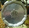 Sigg Plaque Switzerland Hammered Aluminum Plate with Canada Crest