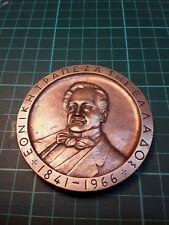 New listing Greece , Greek huge copper medal Ethiniki bank of Greece 1841-1966.