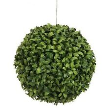 "6"" ARTIFICIAL BALL LONG LEAF BOXWOOD TOPIARY OUTDOOR PLANT BUSH POOL PATIO TREE"