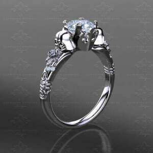 Prevail Star Wars Inspired Engagement Wedding Ring in 925 Sterling Silver White