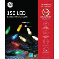 GE Color Choice 150 49.6ft Multicolor / Warm White Color Changing LED Mini Light