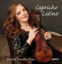 Capricho Latino: Rachel Barton Pine, New Music