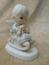 Precious Moments Figure Figurine E 3109 The Purr Fect Grandma Kitten Cat vessel