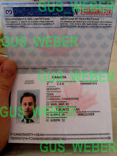 Lost Prop Set 6 Benjamin Linus passport