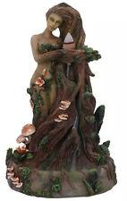 LADY EARTH BACKFLOW INCENSE BURNER 23.5cm Tree Spirit Nemesis Now UK SELLER