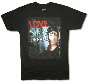 A$AP Rocky LSD Love Sex Dreams Black T Shirt New Official Merch ASAP Mob Hip Hop