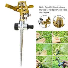 More details for 360° rotating water sprayer garden lawn farm watering irrigation sprinkler uk
