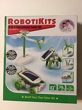 Robotikits OWI-MSK610 6-in-1 Educational Solar Kit , New, Free Shipping