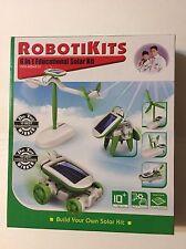 Robotikits OWI-MSK610 6-in-1 Educational Solar Kit , New, Free Shipping
