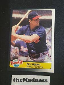 1990 Fleer MVP Toys R Us Dale Murphy Baseball Card #28 Oddball Set Break Braves