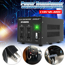 500W Transformer Heavy Duty Step Up and Down AC 110 to 220 Voltage Converter