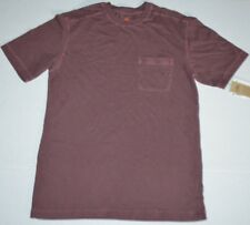 NWT Mens NORTHWEST TERRITORY Cordovan Pigment Vtg Look Crew Pocket Tee T-Shirt S