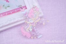 Carrusel Pony mágico de ensueño Lolita Pastel bastante Unicornio Harajuku Collar
