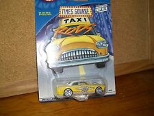 Hot Wheels Times Square Taxi Rods shoe box in yellow